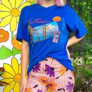 Vintage 80s San Francisco tourist unisex T-shirt